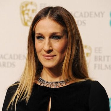 """<p>Sarah Jessica Parker looked super fashion-forward at the 2013 BAFTAs with her straight, sleek hairstyle parted at the centre.</p><p>To achieve this look, add a touch of <a href=""""http://www.charlesworthington.com/hair-products/brilliant-shine-finishing-touch-polish"""" target=""""_blank"""">Charles Worthington Brilliant Shine Finishing Touch Polish</a> after straightening to smooth any last minute flyaways. Finish off with a spritz of hairspray and you're ready to hit the red carpet!</p>"""
