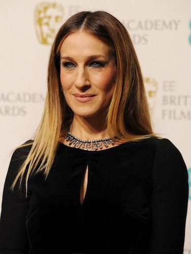"<p>Sarah Jessica Parker looked super fashion-forward at the 2013 BAFTAs with her straight, sleek hairstyle parted at the centre.</p> <p>To achieve this look, add a touch of <a href=""http://www.charlesworthington.com/hair-products/brilliant-shine-finishing-touch-polish"" target=""_blank"">Charles Worthington Brilliant Shine Finishing Touch Polish</a> after straightening to smooth any last minute flyaways. Finish off with a spritz of hairspray and you're ready to hit the red carpet!</p>"