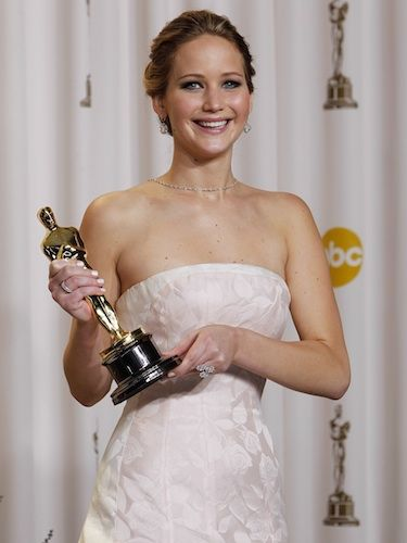 "<p>We've been saying for positively months now that Jennifer Lawrence would walk away with the Best Actress gong and, last night, the talented Silver Linings Playbook star proved us right. Thank goodness she's already revealed she plans to reunite with both co-star Bradley Cooper and David O. Russell her director <a title=""Jennifer Lawrence to reunite with Bradley Cooper"" href=""http://www.cosmopolitan.co.uk/_mobile/celebs/celebrity-gossip/rss/oscars-2013-jennifer-lawrence-bradley-cooper-silver-linings-playbook?ignoreCache=1"" target=""_blank"">TWICE MORE</a>! We have a feeling that, while this may be her first Oscar, it certainly won't be her last.</p> <p>And who cares if she tripped up on her way to collect the award, eh? At least she managed to turn it into a joke: ""You guys are just standing up (to applaud) because you feel bad that I fell!""</p>"