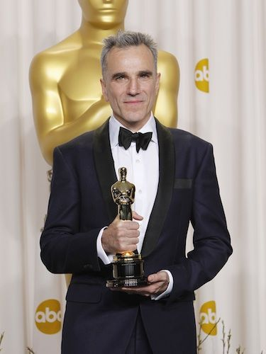 "<p>Daniel Day Lewis walked away with Best Actor for his role as President Abraham Lincoln in Spielberg's biopic (imaginatively titled Lincoln). And, proving he's perhaps one of THE best in the business when it comes to accepting awards, he made sure to spice things up with a well-timed joke:</p> <p>""It's a strange thing because, three years ago... I had actually committed to play Margaret Thatcher, and Meryl was Steven's first choice for 'Lincoln,' ... I'd like to see that version.""</p>"