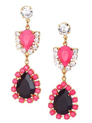 <p>Did someone say bling? Neon jewellery is a massive trend that we can't get enough of. These earrings are an absolute steal. 