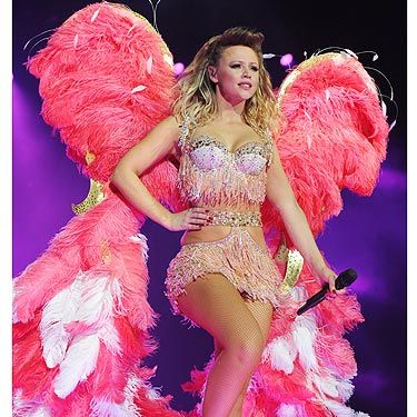 <p>Strictly Come Dancing was excellent practise for Girls Aloud star Kimberley Walsh. The previous Cosmo cover star looked absolutely amazing in her Victoria's Secret inspired costume.</p>