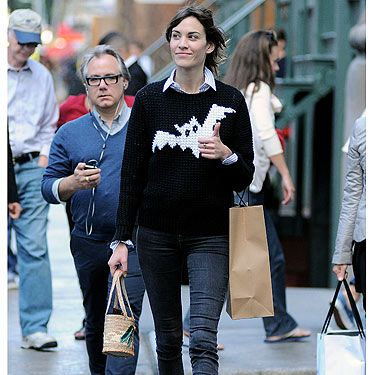 <p>Alexa Chung's wardrobe must be HUGE - think Cher from Clueless huge. So you can imagine our surprise when we spotted her in New York wearing the bat jumper we've seen her in before, that's right people, stop the press! Alexa wore her JW Anderson X Topshop jumper during London Fashion Week when she waltzed in to the Moschino Cheap 'n' Chic show. And now, she's worn it again. Gosh, we might need to have a lie down...</p><p> </p>