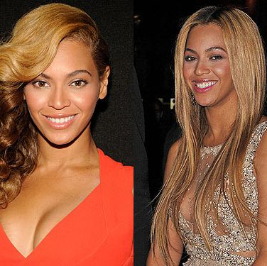 <p>Not only does singer Beyonce rock blonde hair like no one else, she continues to play with pin-straight and ringlet-curly hairstyles. What do you think looks best on this stunning star?</p>