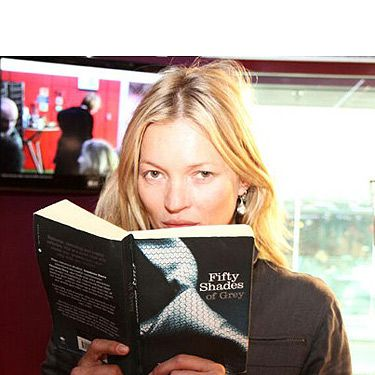 <p>Supermodel Kate Moss read a passage from Fifty Shades of Grey live on Nick Grimshaw's Radio 1 Comic Relief Breakfast show to help hit a target of £200,000 of donations for Comic Relief. Watch the video on YouTube and we dare you not to love her!</p>