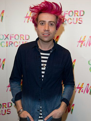 """<p>OMG! Nick Grimshaw has hit the bottle and dyed his hair pink after BBC Radio 1 listeners managed to raise over £261,000 for Comic Relief. Luckily for Nick, pink hair is bang on-trend and various celebrities have been spotted rocking candy floss locks recently. Go Nick! We think it kind of suits him.<br /><br /><a title=""""http://www.cosmopolitan.co.uk/beauty-hair/news/styles/celebrity/crazy-hair-colour-pastel-pink-bold-brights?click=main_sr#fbIndex1"""" href=""""http://www.cosmopolitan.co.uk/beauty-hair/news/styles/celebrity/crazy-hair-colour-pastel-pink-bold-brights?click=main_sr#fbIndex1"""" target=""""_self"""">SEE MORE CELEBS WITH WACKY COLOURED HAIR</a></p>"""