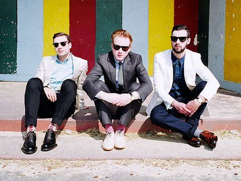 "<p>Coachella festival is just the tip of the iceberg for this Brit band. Not only are they hitting the desert this summer, they've also been confirmed to play Glastonbury and V Festival. Go boys!<br /><br /><strong>So who are they?</strong> <br />Two Door Cinema Club are a Northern Irish indie rock band, formed in 2007 and made up of: Sam Halliday (lead guitar, backing vocals), Alex Trimble (vocals, rhythm guitar, beats, synths) and Kevin Baird (bass, backing vocals). <br /><br /><strong>Do I know them?</strong><br />Of course you do! They're regulars on Radio 1's playlist, and we can't get enough of their song, Sleep Alone.<br /><br /><strong>I like them, how do I find out more?</strong> <br />Visit their website <a title=""http://twodoorcinemaclub.com/home"" href=""http://twodoorcinemaclub.com/home"" target=""_blank"">Twodoorcinemaclub.com</a>, you might be able to catch them on their massive tour.</p> <p><a href=""http://open.spotify.com/user/cosmopolitanuk/playlist/4M1heDXZgTJy97mTZ7DfYe"" target=""_blank"">LISTEN TO THE COSMO COACHELLA PLAYLIST ON SPOTIFY</a><br /><br /></p>"