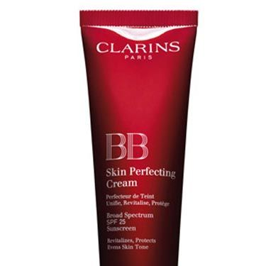 """<p>This April, Clarins' luxury version of the BB Cream is finally out and it's worth the wait. Containing SPF25, it's the ultimate one-stop-product.<br /> <br /><strong>Why we love it?</strong> This heavenly hangover hider glides on a treat and hydrates the skin. It gives the perfect coverage for daytime and lazy weekends with zero telltale signs of being a 'foundation'.<br /><strong> </strong><br /><strong>How many shades?</strong> Three: A light, medium and dark which in our experience come up quite dark, so go for a lighter shade than you think.<br /> <br />£28, <a title=""""Clarins"""" href=""""http://www.clarins.co.uk"""" target=""""_blank"""">Clarins</a></p>"""