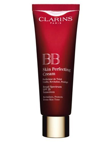 "<p>This April, Clarins' luxury version of the BB Cream is finally out and it's worth the wait. Containing SPF25, it's the ultimate one-stop-product.<br /> <br /><strong>Why we love it?</strong> This heavenly hangover hider glides on a treat and hydrates the skin. It gives the perfect coverage for daytime and lazy weekends with zero telltale signs of being a 'foundation'.<br /><strong> </strong><br /><strong>How many shades?</strong> Three: A light, medium and dark which in our experience come up quite dark, so go for a lighter shade than you think.<br /> <br />£28, <a title=""Clarins"" href=""http://www.clarins.co.uk"" target=""_blank"">Clarins</a></p>"