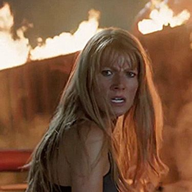 Gwyneth Paltrow's Pepper Potts has always been the waiting patiently on the sidelines in the <em>Iron Man</em> films, dressed impeccably in a suit, applying her genius to some fab new inventions and giving some invaluable advice to her superhero boyfriend Tony Stark (Robert Downey Jr). But, this time around, she's set to be the hero. We've already seen a clip of her donning the Iron Man suit and rescuing Tony from almost certain death - but we have a feeling that <em>Iron Man 3</em> is going to see our girl Pepper doing a LOT more than that. Anyone else counting down the days until she hits our screens with all some serious girl power on April 26th?