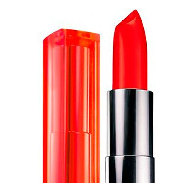"<p>Seonaid Rogers of <a href=""Http://beautyandbaggage.blogspot.com"" target=""_blank"">Beauty & Baggage</a> <br /> <br />""I love a bold red lip, and right now my go-to shade is Maybelline Color Vivid in Neon Red. It's purse friendly and it packs a punch!""<br /><br />Lipstick, £7.19, <a href=""http://www.boots.com/en/Maybelline-Color-Sensational-Vivid-Lipstick-Collection_1297577/"" target=""_blank"">Boots</a><br /><br /></p>"