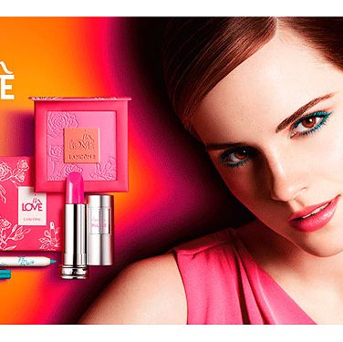 "<p>Colour crush alert! How incredible does Emma Watson look showcasing the in Love collection from Lancôme? Teal liner is the easier way to tackle the blue makeup trend and brunettes should pair with pops of pinks a la Emma.<br /> <br />Buy the collection at <a href=""http://www.lancome.co.uk/_en/_gb/makeup/exclusive-collections/in-love-collection.aspx"" target=""_blank"">Lancôme</a> </p>"
