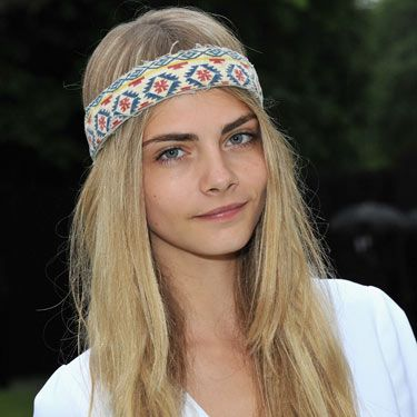 "<p>Aztec prints are going to be huge for summer and as usual Cara Delevingne was one step ahead of the game with this fuss-free headband at Coachella. Try it with feathers for a truly tribal feel - we love this headband from <a title=""ASOS headband"" href=""http://www.asos.com/ASOS/ASOS-Aztec-Feather-Headband/Prod/pgeproduct.aspx?iid=2243410"" target=""_blank"">ASOS</a> (£7)</p>"