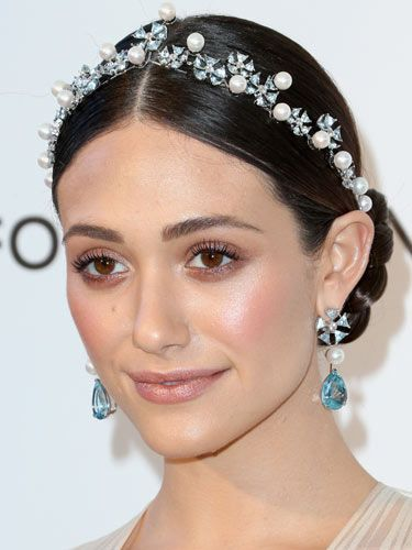 "<p>Actress Emmy Rossum proved pearls never go out of style at the 21st Annual Elton John AIDS Foundation's Oscar Viewing Party with this beautiful hair band. There are some gorgeous pearl accessories out there but we particularly like this delicate, handknitted crystal and pearl piece from <a title=""pearl knitted headband"" href=""http://www.notonthehighstreet.com/bunnylovesevie/product/handknitted-crystal-pearl-hairband"" target=""_blank"">Notonthehighstreet.com</a> (£45)</p>"