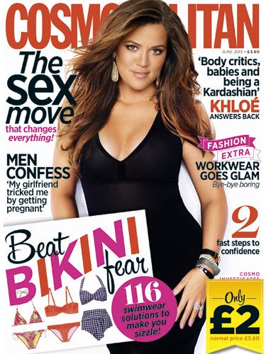 <p>Don't miss out on Cosmopolitan's fab June issue! From cover star Khloe Kardashian's honest interview to the sex move that changes everything and 116 swimwear solutions to make you dazzle, it's a winner. And for the uber-bargainous price of £2*, it'd be rude not to…</p>
