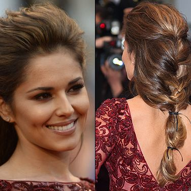"""<p>Proving her preference for big hair still serves her well, Cheryl hit Cannes in her capacity as a L'Oréal Paris ambassador. We adore this ultra loose plait, held together with multiple leather ties. Her neutral makeup was pure class too, strong stuff Chezza!</p><p><strong>Get the look</strong> with this <a title=""""http://www.cosmopolitan.co.uk/beauty-hair/news/beauty-news/how-to-do-cheryl-coles-cannes-hair-and-makeup"""" href=""""http://www.cosmopolitan.co.uk/beauty-hair/news/beauty-news/how-to-do-cheryl-coles-cannes-hair-and-makeup"""" target=""""_self"""">step-by-step guide</a> by Cheryl's hair stylist!</p>"""