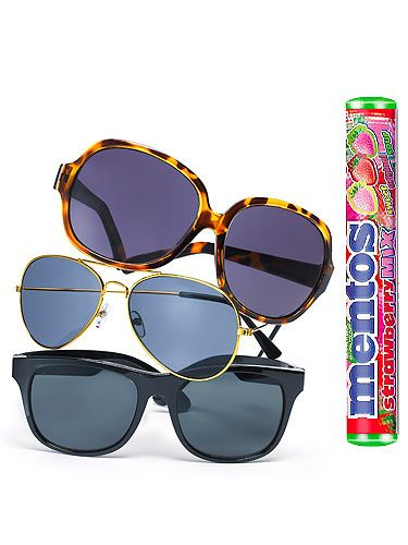 <p>Heading to a beach somewhere? Don't forget July's issue of Cosmo! Not only will you get a quality read, you'll be treated to a pair of stylish sunglasses* and a pack of yummy Mentos sweets to go with it. PLUS win the ultimate summer with Cosmo's big summer giveaway! All you need now is suncream…</p> <p>*Not available on subscription copies or in some areas written somewhere</p>