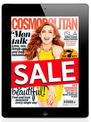 "<p>Did someone say spring sale? We've dropped the price of all the digital editions of Cosmo – past and present – so now your favourite magazine is even better value than ever. Simply visit <a href=""http://www.cosmopolitan.co.uk/download-the-digital-edition-of-cosmopolitan-for-google-play-the-kindle-the-nook-iphones-and-ipads-and-through-zinio"" target=""_blank"">Cosmopolitan.co.uk</a> and select your device from the list.</p>"