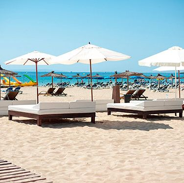 "<p>A fantastic place to pitch yourself if you're staying near Playa D'en Bossa. If you're lucky you might even catch Carl Cox making an impromptu appearance on the decks, and the food is a fusion of Ibizan and Japanese. As well as guest DJ's, <a href=""http://www.sandsibiza.com/"" target=""_blank"">Sands Ibiza</a> also has famous guest chefs making an appearance throughout the summer.</p>"