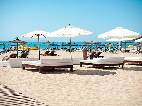 """<p>A fantastic place to pitch yourself if you're staying near Playa D'en Bossa. If you're lucky you might even catch Carl Cox making an impromptu appearance on the decks, and the food is a fusion of Ibizan and Japanese. As well as guest DJ's, <a href=""""http://www.sandsibiza.com/"""" target=""""_blank"""">Sands Ibiza</a> also has famous guest chefs making an appearance throughout the summer.</p>"""