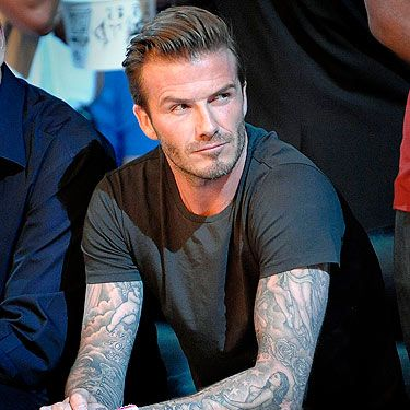 <p>David Beckham wins our Friday Fittie crown this week. Why? C'mon, as if we need a reason. We reckon he's been watching Zoolander, because he's definitely embracing Blue Steel's pout, or perhaps he's just been taken some tips from wife Victoria. Becks is also looking more tattooed than ever – we hope he's still got room for the word 'Cosmo' somewhere. Thanks DB for giving us that Friday feeling and distracting us from work for five minutes… okay, we mean an hour.</p>
