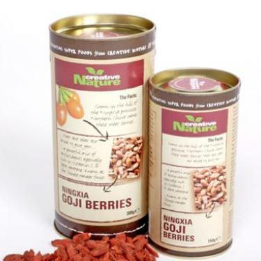 """<p>Goji berries are an ideal way to snack on something delicious between meals, all while packing some seriously nutritional punch to your daily diet.</p><p>Miranda Kerr is one of the many celebs who adores these moreish little berries, admitting she loves them because they're """"rich in antioxidants and are said to have more vitamin C than oranges.""""</p><p>Sounds good to us - throw in plenty of vitamin B1, B2, B6 and E, not to mention trace minerals of zinc, iron, copper, calcium, germanum, selenium and phosphorous, and you have a recipe for snacking perfection!</p><p>£6.40 for 150g, <a title=""""Creative Nature Superfoods"""" href=""""http://www.creativenaturesuperfoods.co.uk"""" target=""""_blank"""">Creative Nature Superfoods</a></p>"""