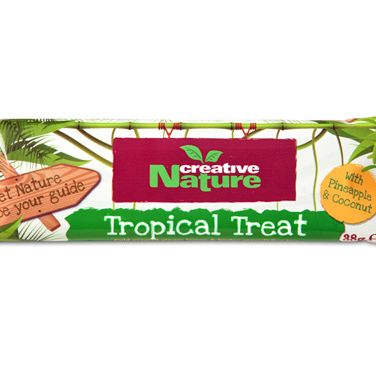 <p>These unadulterated sweet treats are 100% natural, containing only raw, cold-pressed fruits, fibres and nuts. They're low in fat and maintain all the nutritional properties of the ingredients given that they aren't heated, cooked or processed.</p><p>The three new (ultra-yummy) flavours are Blissful Berry, Sublime Seed and Tropical Treat - all vegan-friendly and with no added sugar. Guilt-free and oh-so GOOD.</p><p>99p, Holland & Barrrett</p>