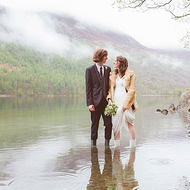 "<p>""Helen and Andy weren't afraid to get a little muddy on their wedding day, and the results were some of the most dramatic and beautiful wedding photographs I've ever seen.""</p>