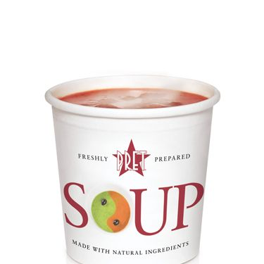 """<p>The perfect respite on a busy day in the office, Pret offers up many a healthy meal. Their calorie counts are clearly labelled on the shelves, to make for easy dieting with a delicious twist.</p><p>As well as low-calorie soups ranging from Miso (32 cals) to Cream of Mushroom (159 cals) they boast a host of 'no bread sandwiches' with some seriously hearty ingredients.</p><p>The Crayfish & Avocado No Bread packs in plenty of benefits for your body, whilst only coming in at a guilt-free 203 calories.</p><p><a title=""""http://www.pret.com"""" href=""""http://www.pret.com"""" target=""""_blank"""">Pret.com</a></p>"""