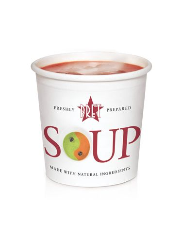 "<p>The perfect respite on a busy day in the office, Pret offers up many a healthy meal. Their calorie counts are clearly labelled on the shelves, to make for easy dieting with a delicious twist.</p> <p>As well as low-calorie soups ranging from Miso (32 cals) to Cream of Mushroom (159 cals) they boast a host of 'no bread sandwiches' with some seriously hearty ingredients.</p> <p>The Crayfish & Avocado No Bread packs in plenty of benefits for your body, whilst only coming in at a guilt-free 203 calories.</p> <p><a title=""http://www.pret.com"" href=""http://www.pret.com"" target=""_blank"">Pret.com</a></p>"