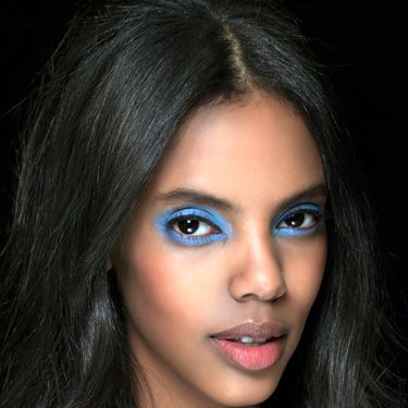 <p>A/W13 make-up steers away from the safe, delivering shots of shocking shadows to make a vivid impact.</p><p>At Unique a turquoise haze adorned the models' lids, lending a 90s Brit pop feel with a powdery, chalky texture.</p><p>Meanwhile at Alexandre Herchcovitch colours were etched in the crease, creating a bold bolt of colour that appears when you bat your eyes. </p>