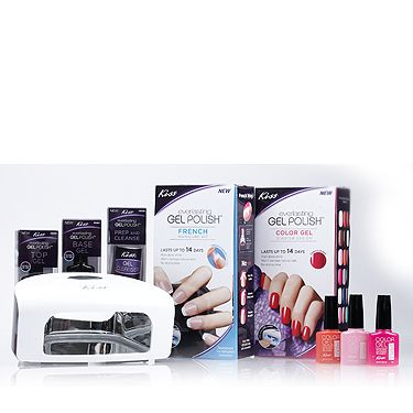 <p>A budget-worthy option in one handy little kit, the Kiss gel starter set holds everything you need to get going.</p>