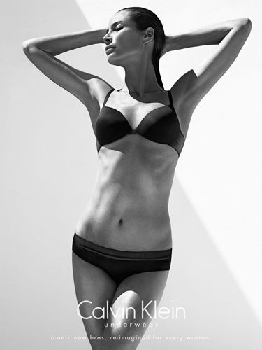 "<p>The Calvin Klein Underwear model, mum, marathoner and yogi, reveals her routine:</p> <p>""My favorite thing to do of all things is yoga, beyond staying in shape but really for everything that it gives me. I also have discovered that I love running too. The last few years I've trained for a couple of marathons and really enjoyed that too. But I think I sort of integrated yoga and the feeling I get from yoga into the running. So yeah, I like kind of mixing it up. I like being outside, so sometimes it's just nice to run so I can be outside in the sun and sort of see the seasons change and things.""</p> <p>Looking at the 44-year-old's fine form in her latest campaign, we're taking up both! Wow.</p>"