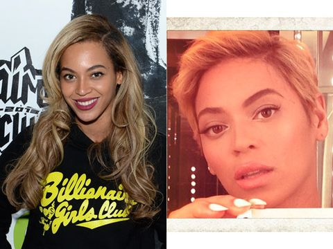 """<p>The world went wild when Beyonce decided to sport a dramatic new pixie crop! According to the her hair stylist, Kim Kimble, she chose to get the crop because she """"wanted to make a statement…It's a great [one] to make: I'm beautiful, sexy, bold and I can do it all. She's the perfect model for that: A working woman, mom, superstar, businesswoman. She's powerful in herself."""" We can't help but wonder if Rihanna inspired her new 'do…</p>"""