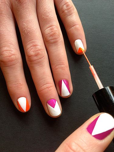 The Illustrated Nail – How to do Geometric nails :: Nail Art news