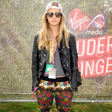 <p>The model of the moment descended upon yet another festival this year and we're thrilled she did – after all she rocked some serious field-appropriate attire and set tongues wagging as she partied backstage with Niall Horan.</p>