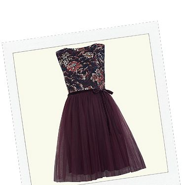 """<p>Do you tutu? We do! Swish about like a proper princess in this delightful dress. Rock up your fancy frock with a leather jacket and studs to avoid looking overly girly.</p><p>Floral print tutu mesh dress, £45, <a title=""""http://www.missselfridge.com/en/msuk/product/new-in-299046/view-all-299058/floral-print-tutu-mesh-dress-2166008?bi=1&ps=200"""" href=""""http://www.missselfridge.com/en/msuk/product/new-in-299046/view-all-299058/floral-print-tutu-mesh-dress-2166008?bi=1&ps=200"""" target=""""_blank"""">Miss Selfridge</a></p>"""