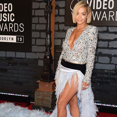 "<p>Rita Ora's dress was so phenomenal it deserved an article all of its own - see loads more pictures of her enormous gown <a href=""http://www.cosmopolitan.co.uk/fashion/news/rita-ora-dress-mtv-vmas-2013"" target=""_blank"">here</a>.</p>"