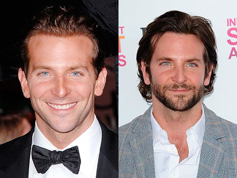 "<p>While we tend to just get lost in Bradley Cooper's pretty blue eyes most of the time, we think a bit of facial hair definitely ramps up his sex appeal.</p> <p><a href=""http://www.cosmopolitan.co.uk/celebs/entertainment/harry-styles-ian-somerhalder-liam-hemsworth-and-more-hot-guys-at-teen-choice-awards-2013"" target=""_blank"">HOT MEN AT THE 2013 TEEN CHOICE AWARDS</a><br /><br /><a href=""http://www.cosmopolitan.co.uk/celebs/entertainment/90s-tv-crushes-then-now"" target=""_blank"">90S HEARTTHROBS - WHERE ARE THEY NOW?</a></p> <p><a href=""http://www.cosmopolitan.co.uk/love-sex/cosmo-centerfolds/"" target=""_blank"">SEE MORE HOT MEN HERE</a></p>"