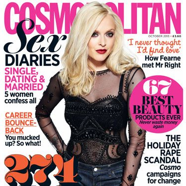 <p>Fearne Cotton is BACK as Cosmo's gorgeous cover star.</p><p>In the jam-packed October issue, Fearne talks about love and her new life with son Rex&#x3B; her career and discovering where her passions really lie&#x3B; and what she knows now that she <em>wishes</em> she'd been told in her twenties.</p><p>An eye opening read from an inspirational woman, you won't want to miss this interview (and, may we add, beautiful photographs).</p>