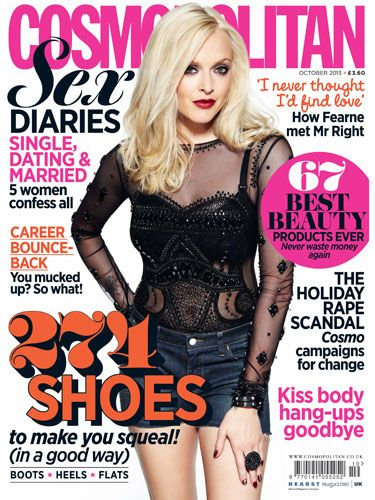 <p>Fearne Cotton is BACK as Cosmo's gorgeous cover star.</p> <p>In the jam-packed October issue, Fearne talks about love and her new life with son Rex; her career and discovering where her passions really lie; and what she knows now that she <em>wishes</em> she'd been told in her twenties.</p> <p>An eye opening read from an inspirational woman, you won't want to miss this interview (and, may we add, beautiful photographs).</p>