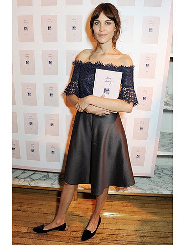 """<p>Alexa Chung looked cute in a Carven dress and preppy flats at the London launch of her first ever book (which she also used as an accessory).</p> <p class=""""fb_frame_side_right_paragraph""""><a href=""""http://www.cosmopolitan.co.uk/fashion/love/"""" target=""""_blank"""">VOTE ON CELEBRITY STYLE</a></p> <p class=""""fb_frame_side_right_paragraph""""><a href=""""http://www.cosmopolitan.co.uk/fashion/shopping/new-in-store-2-september"""" target=""""_blank"""">SHOP THIS WEEK'S BEST BUYS</a></p> <p class=""""fb_frame_side_right_paragraph""""><a href=""""http://www.cosmopolitan.co.uk/fashion/celebrity/"""" target=""""_blank"""">SEE THE LATEST CELEBRITY TRENDS</a></p> <div style=""""overflow: hidden; color: #000000; background-color: #ffffff; text-align: left; text-decoration: none;""""> </div>"""