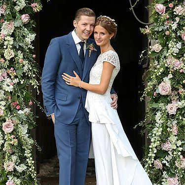 "<p>The first official pictures of the happy couple couldn't be any more perfect if they tried. We don't know if <a href=""http://www.cosmopolitan.co.uk/celebs/celebrity-gossip/rss/millie-mackintosh-engaged-to-professor-green-quits-made-in-chelsea"" target=""_blank"">Millie Mackintosh</a> has taken Pro Green's name – Stephen Manderson – but we think Millie Manderson sounds rather lovely.</p>"