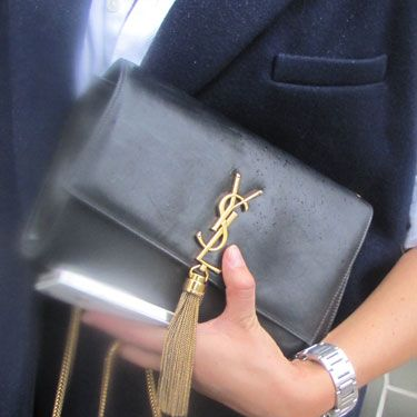 Hell-o YSL! Arm candy doesn't get any sweeter.