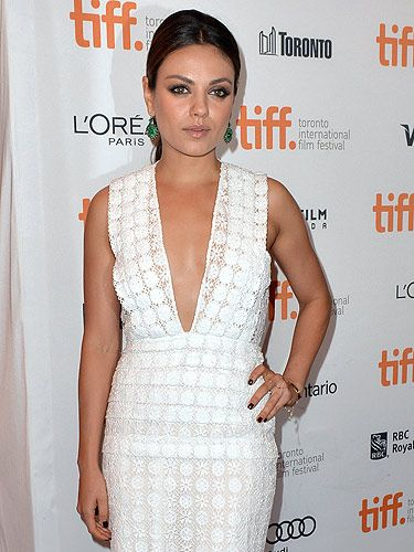 "<p>Mila Kunis wowed in Burberry at the photocall of her film, Third Person.</p> <p><a href=""http://www.cosmopolitan.co.uk/celebs/entertainment/celebrity-red-carpet-photos/"" target=""_blank"">SEE MORE RED CARPET PICTURES HERE</a></p>"