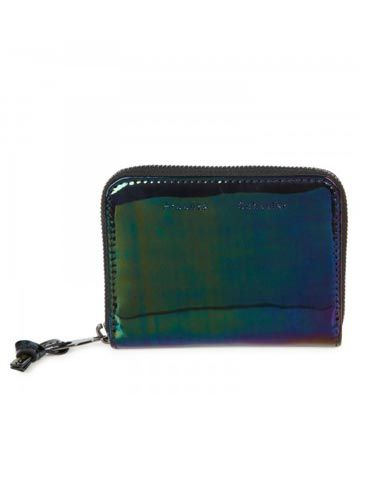 "<p>Keep your pennies safe and sound in style with this oil slick wallet from designer duo Proenza Schouler.</p> <p>Glossed leather wallet, £260, Proenza Schouler at <a href=""http://www.harveynichols.com/womens/categories-1/designer-accessories/small-leathers/s454995-metallic-glossed-leather-wallet.html?colour=METALLIC+BRONZE"" target=""_blank"">Harvey Nichols</a></p> <p> </p>"