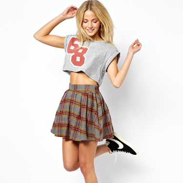 """<p>This skirt is a little bit 90s style Clueless and a whole lot on trend. We love it!</p><p>Brushed check skater skirt, £32, <a href=""""http://www.asos.com/ASOS/ASOS-Skater-Skirt-in-Brushed-Tartan-Check/Prod/pgeproduct.aspx?iid=3069704&SearchQuery=tartan&Rf-700=1000&sh=0&pge=0&pgesize=36&sort=-1&clr=Multi"""" target=""""_blank"""">asos.com</a></p><p><a href=""""http://www.cosmopolitan.co.uk/fashion/shopping/winter-fashion-trend-2013-punk"""" target=""""_blank"""">SHOP: THE PUNK WINTER TREND EDIT</a></p><p><a href=""""http://www.cosmopolitan.co.uk/fashion/fashion-week-2013"""" target=""""_blank"""">SEE: COSMO FASHION DAILY</a></p><p><a href=""""http://www.cosmopolitan.co.uk/fashion/news/"""" target=""""_blank"""">GET THE LATEST FASHION AND STYLE NEWS</a></p>"""