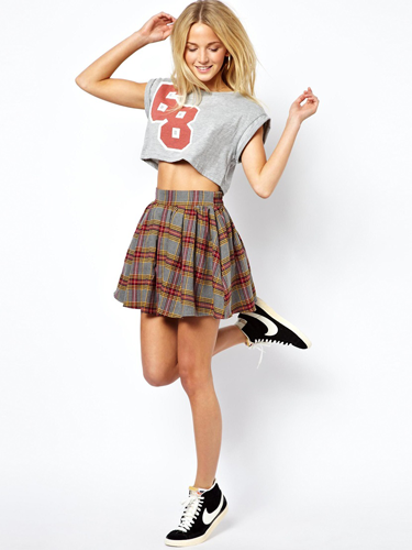 "<p>This skirt is a little bit 90s style Clueless and a whole lot on trend. We love it!</p> <p>Brushed check skater skirt, £32, <a href=""http://www.asos.com/ASOS/ASOS-Skater-Skirt-in-Brushed-Tartan-Check/Prod/pgeproduct.aspx?iid=3069704&SearchQuery=tartan&Rf-700=1000&sh=0&pge=0&pgesize=36&sort=-1&clr=Multi"" target=""_blank"">asos.com</a></p> <p><a href=""http://www.cosmopolitan.co.uk/fashion/shopping/winter-fashion-trend-2013-punk"" target=""_blank"">SHOP: THE PUNK WINTER TREND EDIT</a></p> <p><a href=""http://www.cosmopolitan.co.uk/fashion/fashion-week-2013"" target=""_blank"">SEE: COSMO FASHION DAILY</a></p> <p><a href=""http://www.cosmopolitan.co.uk/fashion/news/"" target=""_blank"">GET THE LATEST FASHION AND STYLE NEWS</a></p>"