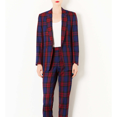 """<p>If your budget won't quite stretch to Vivienne Westwood, this tailored tartan trouser suit from Toppers is just the ticket.</p><p>Tartan trouser suit, £150, <a href=""""http://www.topshop.com/webapp/wcs/stores/servlet/ProductDisplay?searchTerm=check&storeId=12556&productId=11958204&urlRequestType=Base&categoryId=&langId=-1&productIdentifier=product&catalogId=33057"""" target=""""_blank"""">topshop.com</a></p><p><a href=""""http://www.cosmopolitan.co.uk/fashion/shopping/winter-fashion-trend-2013-punk"""" target=""""_blank"""">SHOP: THE PUNK WINTER TREND EDIT</a></p><p><a href=""""http://www.cosmopolitan.co.uk/fashion/fashion-week-2013"""" target=""""_blank"""">SEE: COSMO FASHION DAILY</a></p><p><a href=""""http://www.cosmopolitan.co.uk/fashion/news/"""" target=""""_blank"""">GET THE LATEST FASHION AND STYLE NEWS</a></p>"""