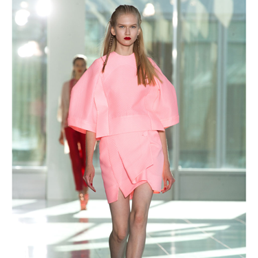 <p><strong></strong>Following the sell out success of THAT pink M&S coat, it seems designers are still thinking pink for spring 2014 (like Antonio Berardi, see picture). So if you invest in a pink coat now, it will take you through this season and beyond. Brill!</p>